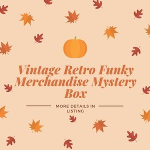 Vintage Funky Retro Mystery Boxes 📦 SMALL BOX